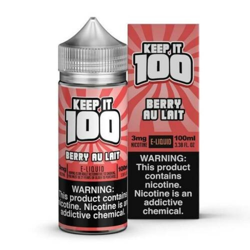 Strawberry Milk | by Keep It 100 e-Juice