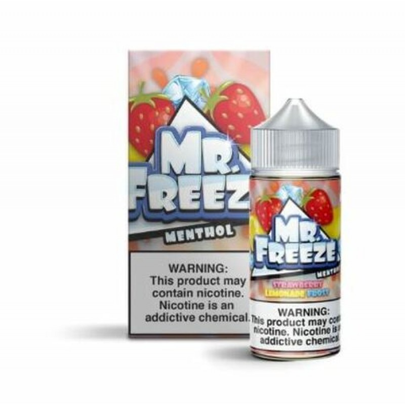 Strawberry Lemonade Frost - by Mr Freeze Eliquids ...