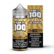 Krunchy Squares - by Keep It 100 e-Juice