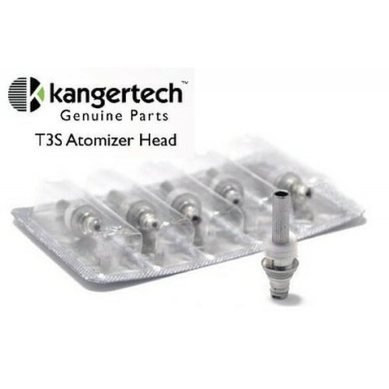 KangerTech T3S Replacement Coils - 5 Pack