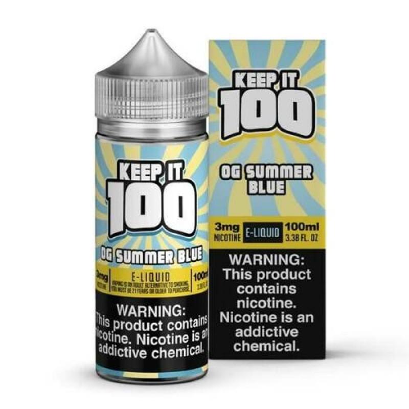 Blue Slushie Lemonade  - by Keep It 100 e-Juice